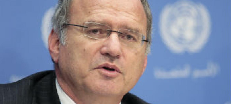 Christof Heyns. Foto: ONU//Paulo Filgueiras