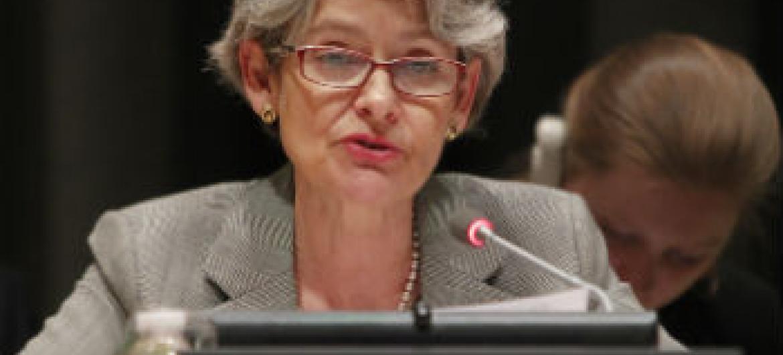 Irina Bokova. Foto: ONU/Devra Berkowitz