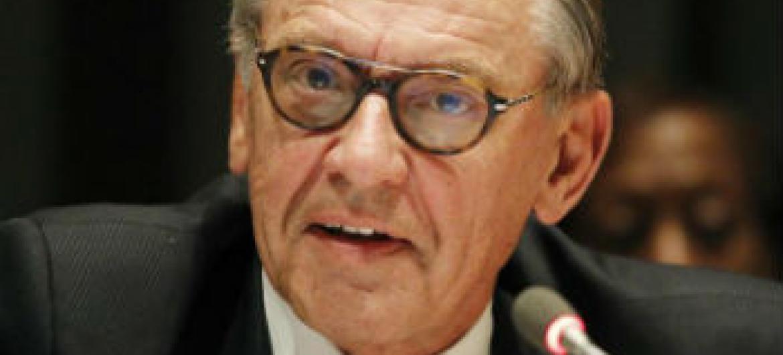 Jan Eliasson. Foto: ONU/Paulo Filgueiras