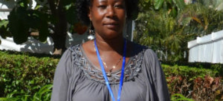 Lidia Mangueze. Foto: Rádio ONU/Ouri Pota