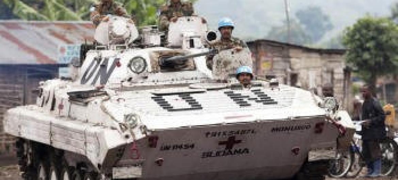 Tropas da Monusco na RD Congo. Foto: ONU