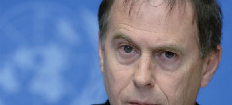 Rupert Colville. Foto: ONU/Jean-Marc Ferré