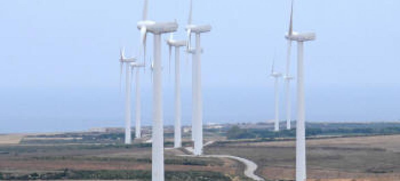 Energia eólica. Foto: Banco Mundial/Dana Smillie