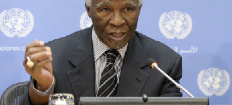 Thabo Mbeki. Foto: ONU/Eskinder Debebe
