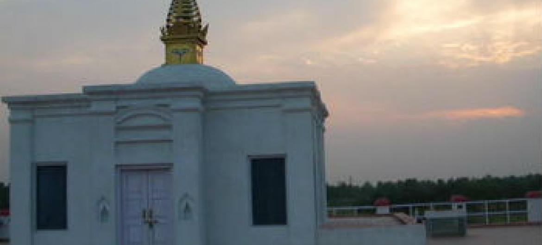 Monumento histórico de Lumbini. Foto: Unesco/Junko Okahashi