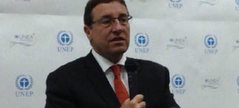 Achim Steiner em Nairobi. Foto: Rádio ONU