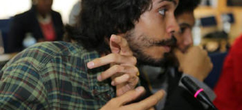 Pedro Cunha. Foto: Rádio ONU