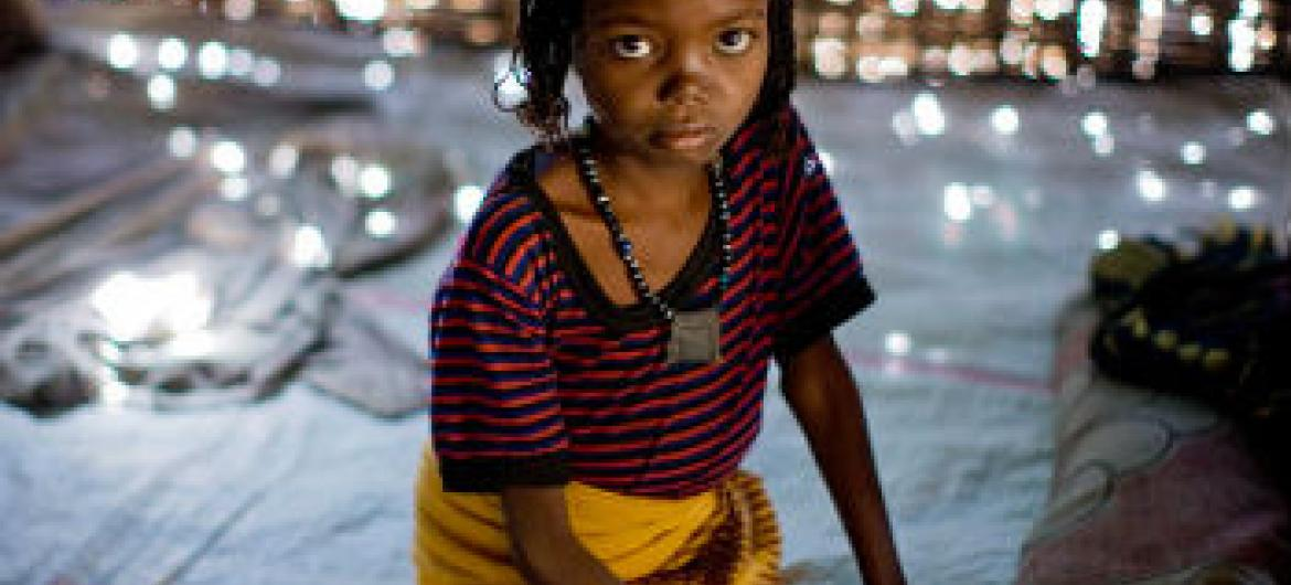 Criança etíope vítima de mutilação genital. Foto: Unicef/Kate Holt