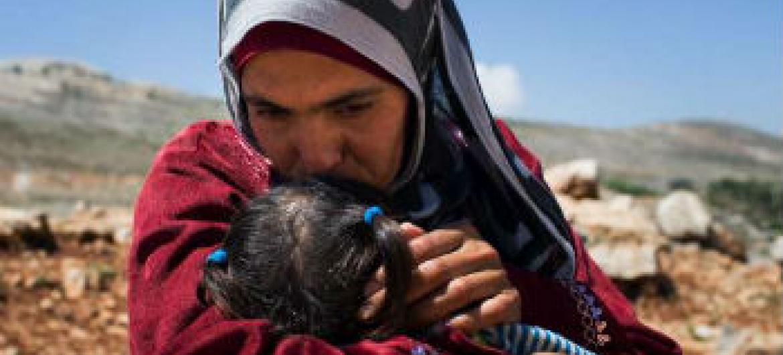 Mulheres sírias lutam pela sobrevivência. Foto: Acnur/A.McConnell
