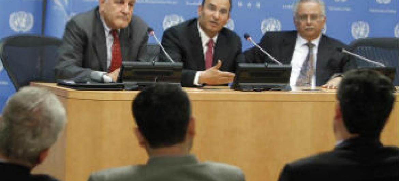 Representantes de países árabes na sede da ONU. Foto: ONU/Devra Berkowitz