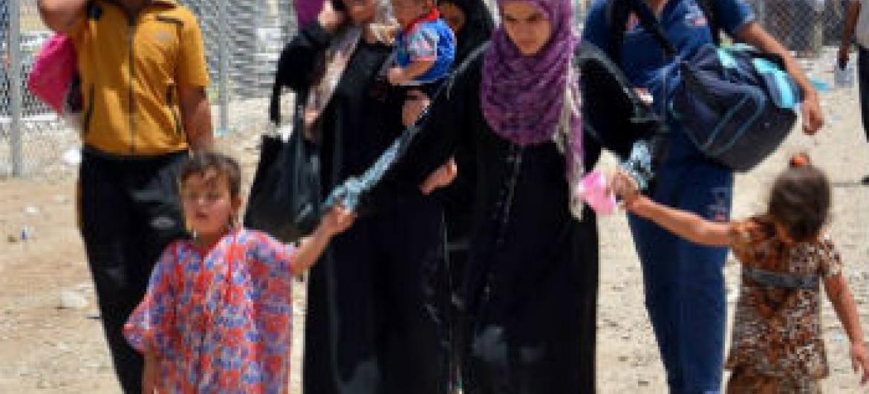 Crianças no Iraque. Foto: Acnur