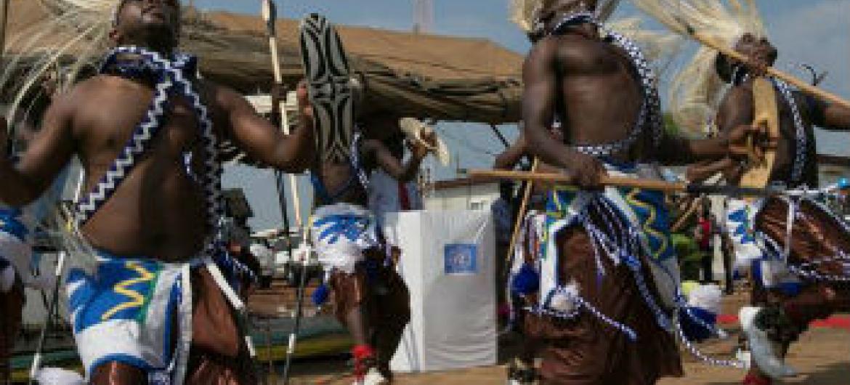 Celebração da independência do Sudão do Sul. Foto: Unmiss