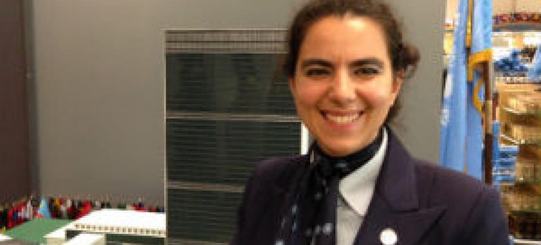 Márcia Soares Pinto. Foto: Rádio ONU