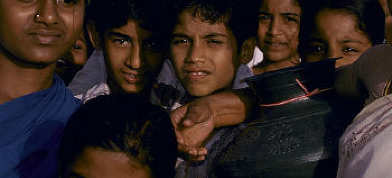 Jovens na Índia. Foto: Banco Mundial/Curt Carnemark