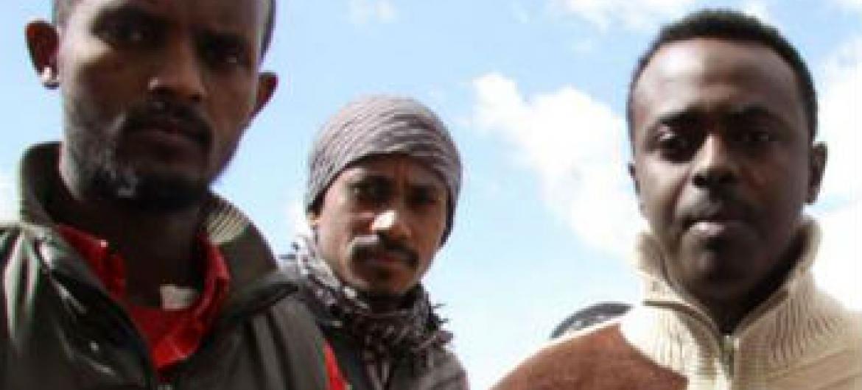 Civis da Eritreia e Somália em Bengazi. Foto: Acnur/L.Dobbs