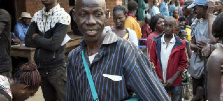 Refugiado regressa a Angola depois de 40 anos na RD Congo. Foto: Acnur/B.Sokol