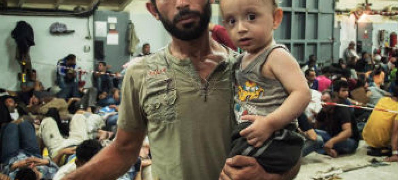 Refugiados sírios necessitam de ajuda urgente. Foto: Acnur/A. D'Amato