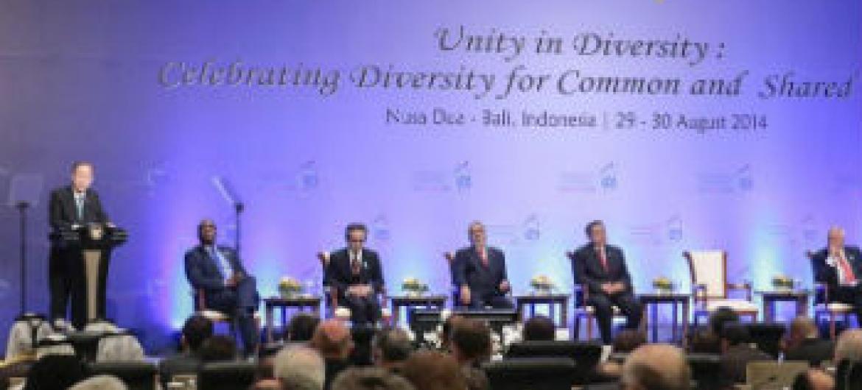 Fórum Global da Aliança das Civilizações. Foto: ONU/Evan Schneider