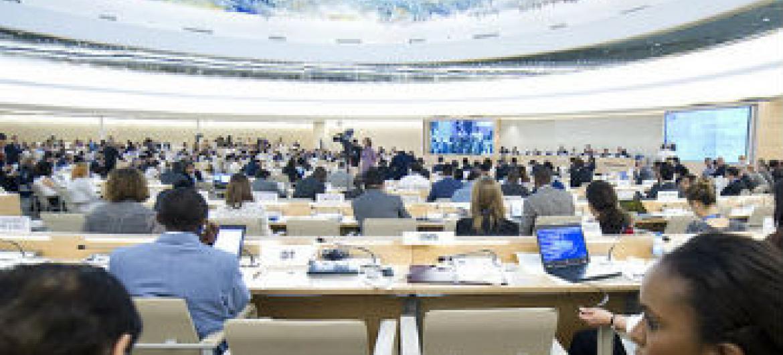 Conselho de Direitos Humanos. Foto: ONU/Violaine Martin