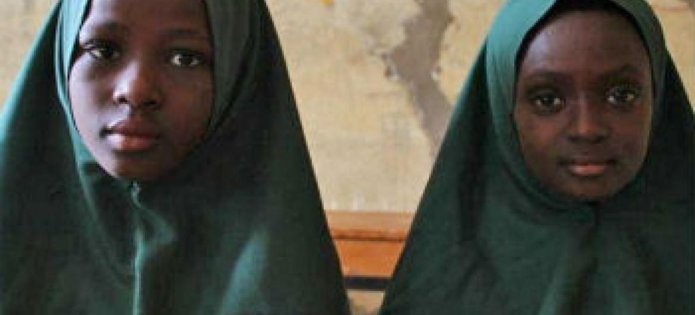 Meninas nigerianas. Foto: Irin/Obinna Anyadike
