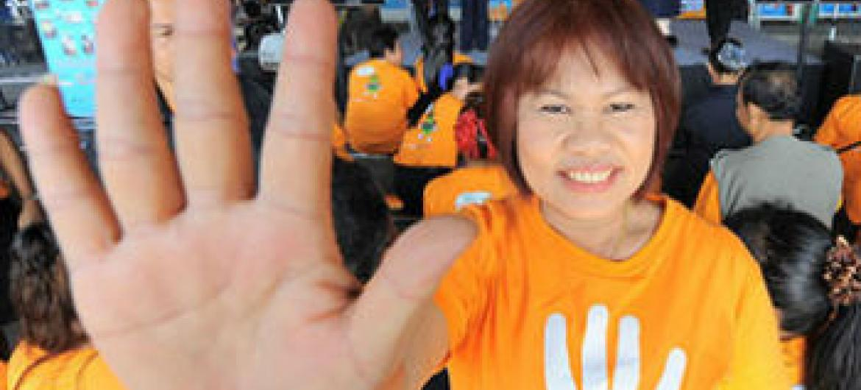Campanha UniTE. Foto: ONU Mulheres
