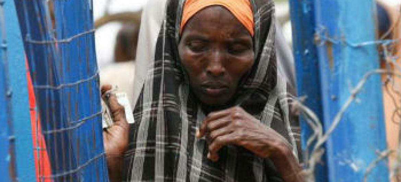 Ban Ki-moon e Jim Yong Kim comprometidos em ajudar o povo somali. Foto: Acnur