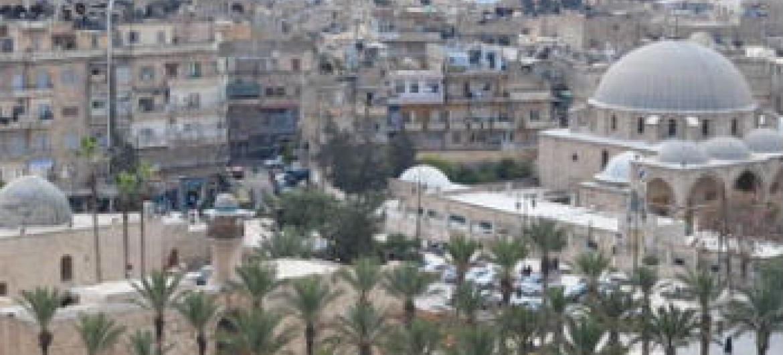 A cidade de Aleppo, na Síria, existe desde milênios antes de Cristo. Foto: Unesco/Silvan Rehfeld