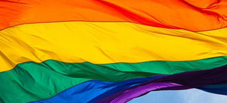 Bandeira LGBT. Foto: ONU