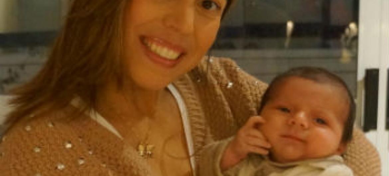 Rita e o filho Tito. Foto: Arquivo pessoal