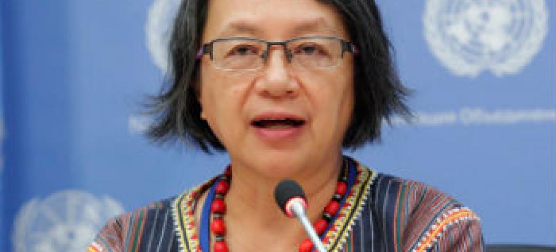 Victoria Tauli-Corpuz. Foto: ONU/JC McIlwaine