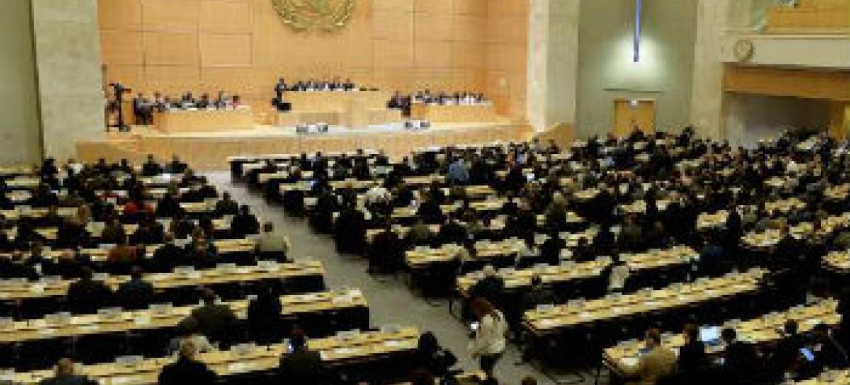 Comité Executiva do Acnur reunida em Genebra. Foto: Acnur/J-M Ferré