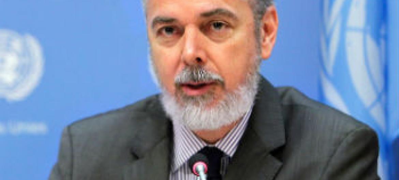 Antonio Patriota. Foto: ONU/Devra Berkowitz