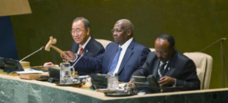 Abertura da 69ª Assembleia Geral da ONU. Foto: ONU/Mark Garten