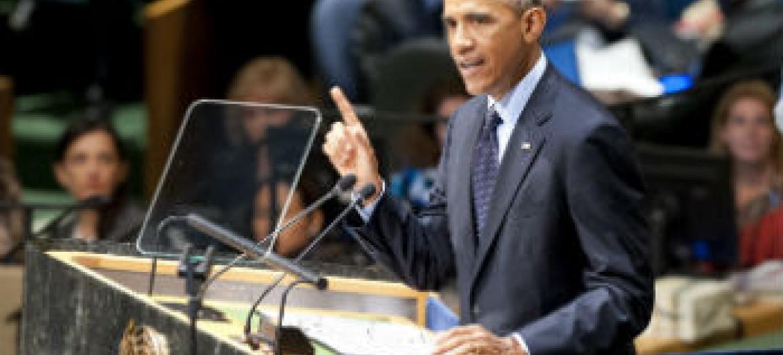 Barack Obama. Foto: ONU/Kim Haughton
