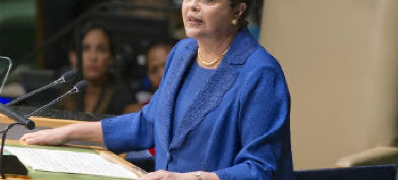 Dilma Rousseff. Foto: ONU/Mark Garten