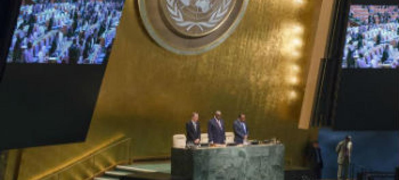 Assembleia Geral da ONU. Foto: ONU/Amanda Voisard