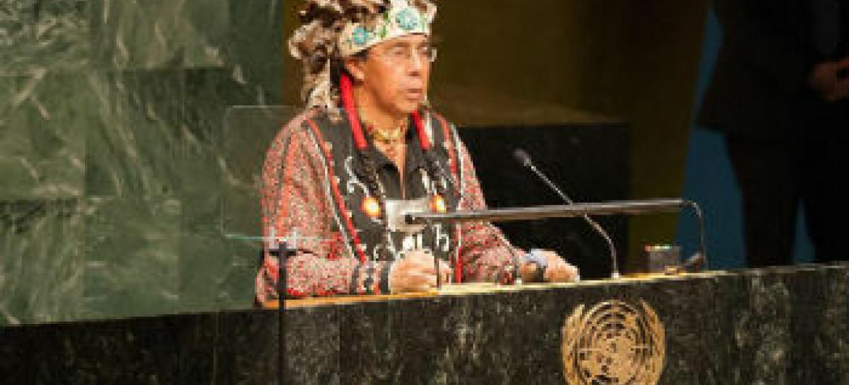 Conferência Mundial sobre os Povos Indígenas. Foto: ONU/Mark Garten