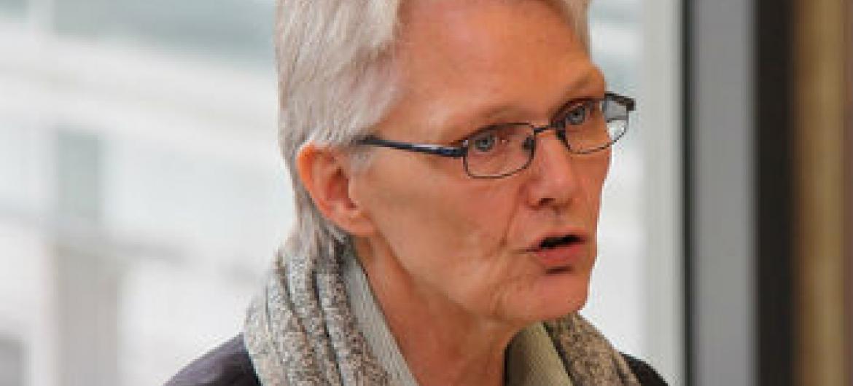 Margareta Wahlström. Foto: Unric Bruxelas