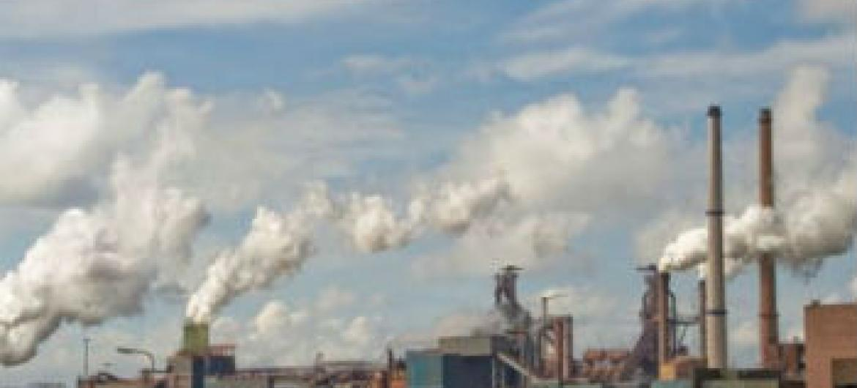 Gases de efeito estufa na atmosfera. Foto: OMM