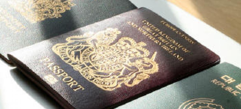 Passaportes detidos. Foto: Unodc