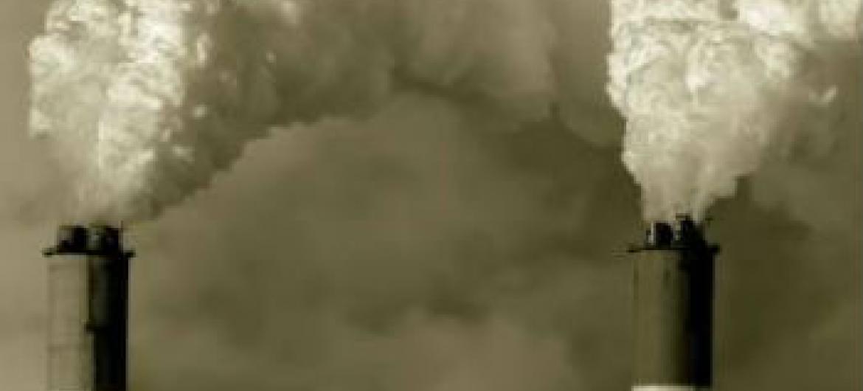 Gases efeito estufa. Foto: Pnuma