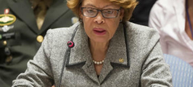 Sandra Honore. Foto: ONU/Eskinder Debebe