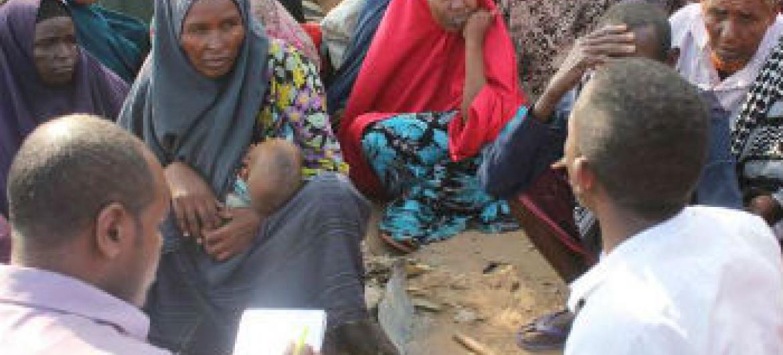 Deslocados na Somália. Foto: Acnur