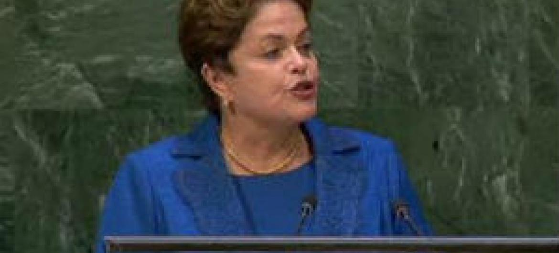 Dilma Rousseff. Foto: Reprodução