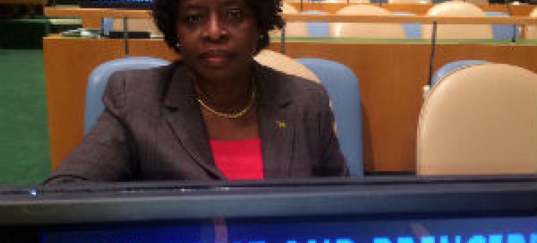 Natália Umbelina. Foto: Rádio ONU