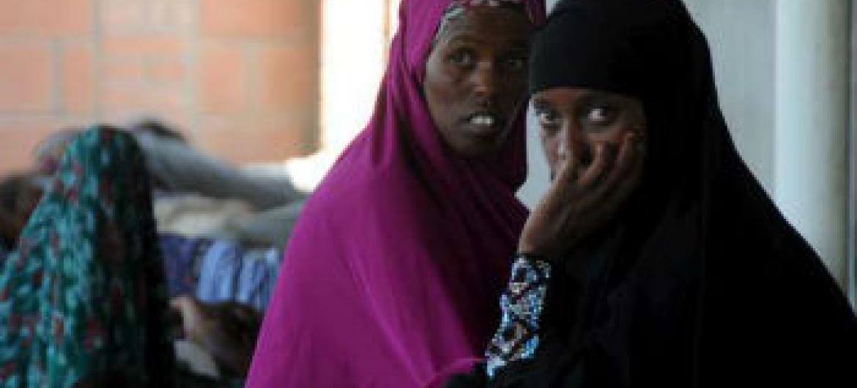 Migrantes recém-chegados ao Iémen. Foto: Acnur