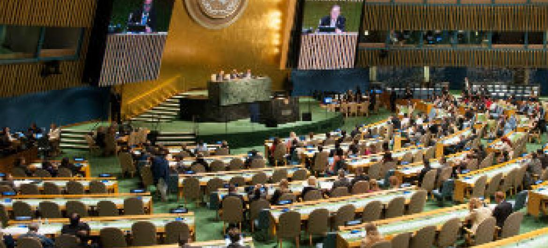 Assembleia Geral da ONU. Foto: ONU/Cia Pak