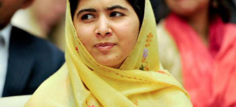 Malala Yousafzai. Foto: ONU/Amanda Voisard
