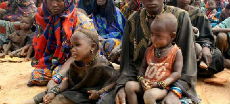 Refugiados do Mali. Foto: Acnur/H. Caux
