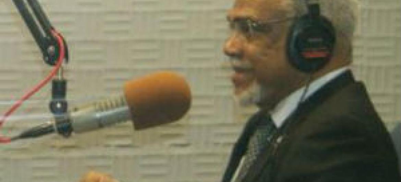 Murade Murargy. Foto: Rádio ONU